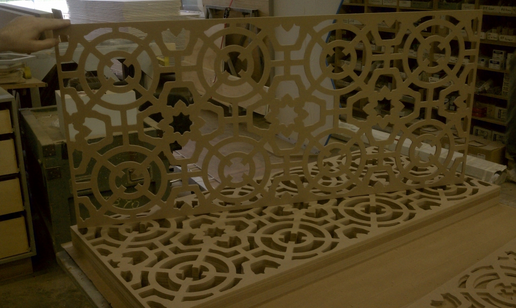 CNC - Intricate attice work
